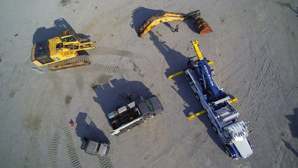 Heavy Equipment Lifting