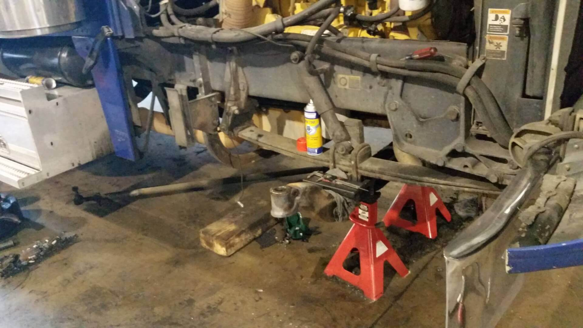 Wrecker Repair