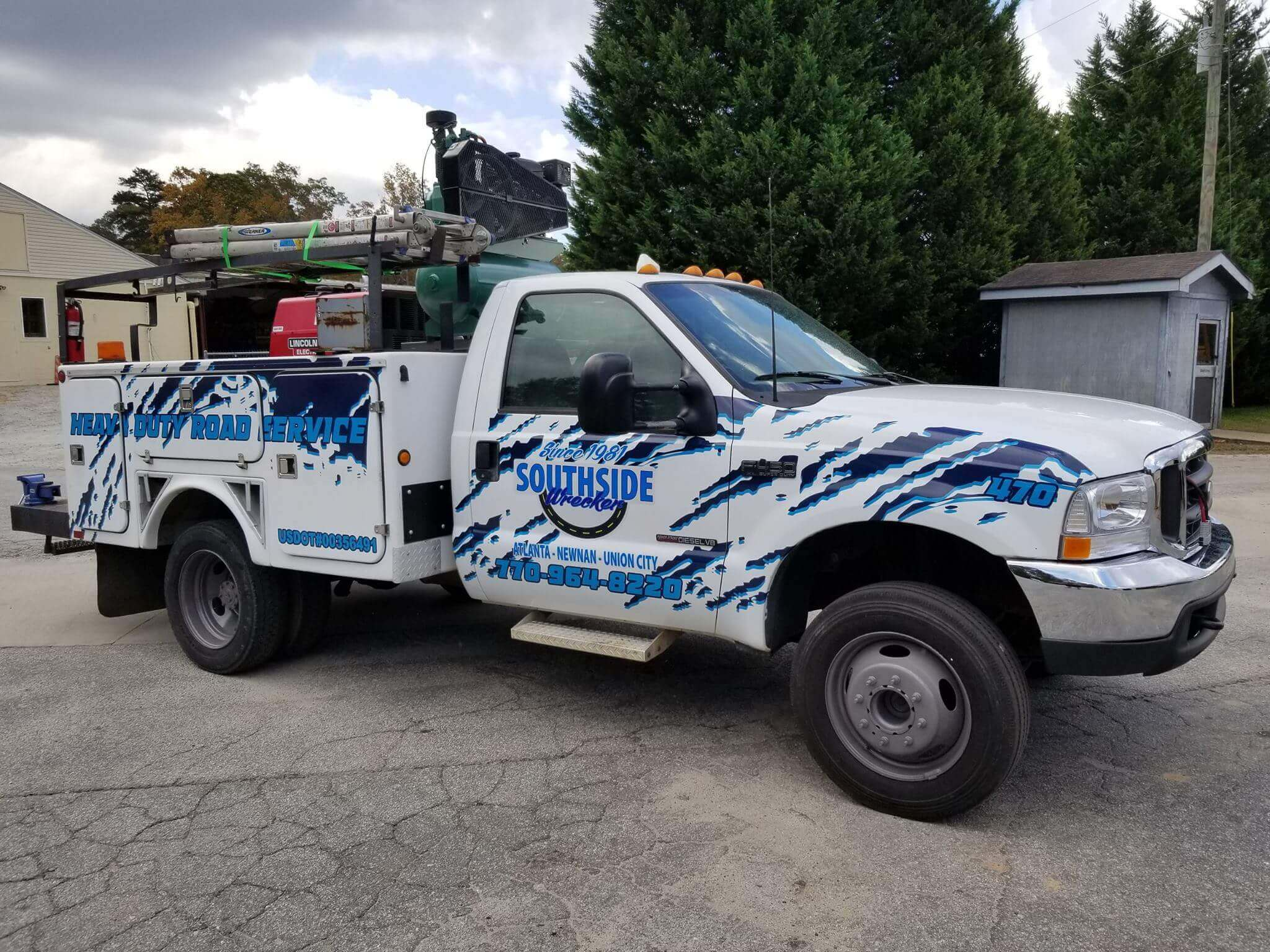 Heavy Duty Road Service Newnan GA