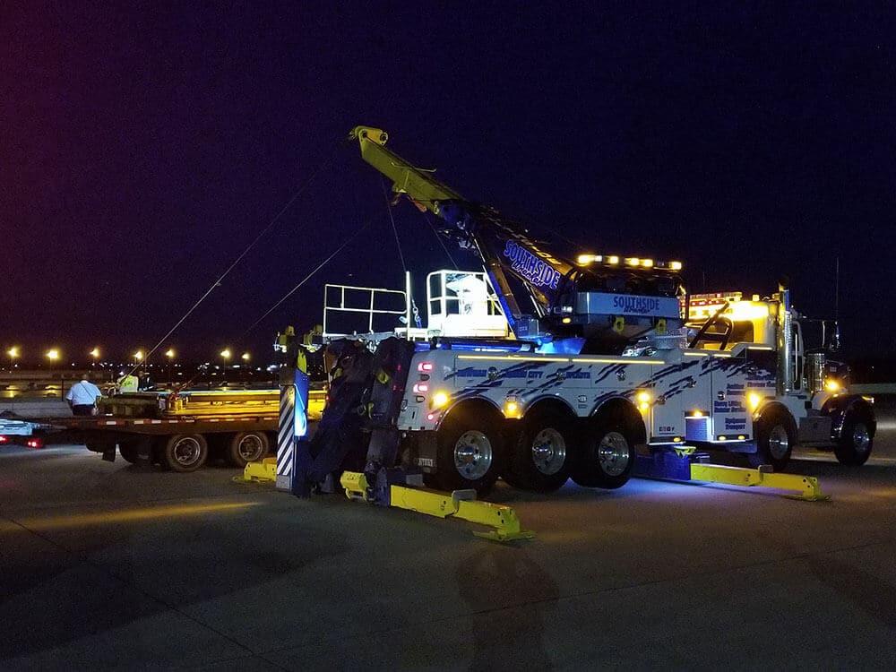 Airport equipment hauling