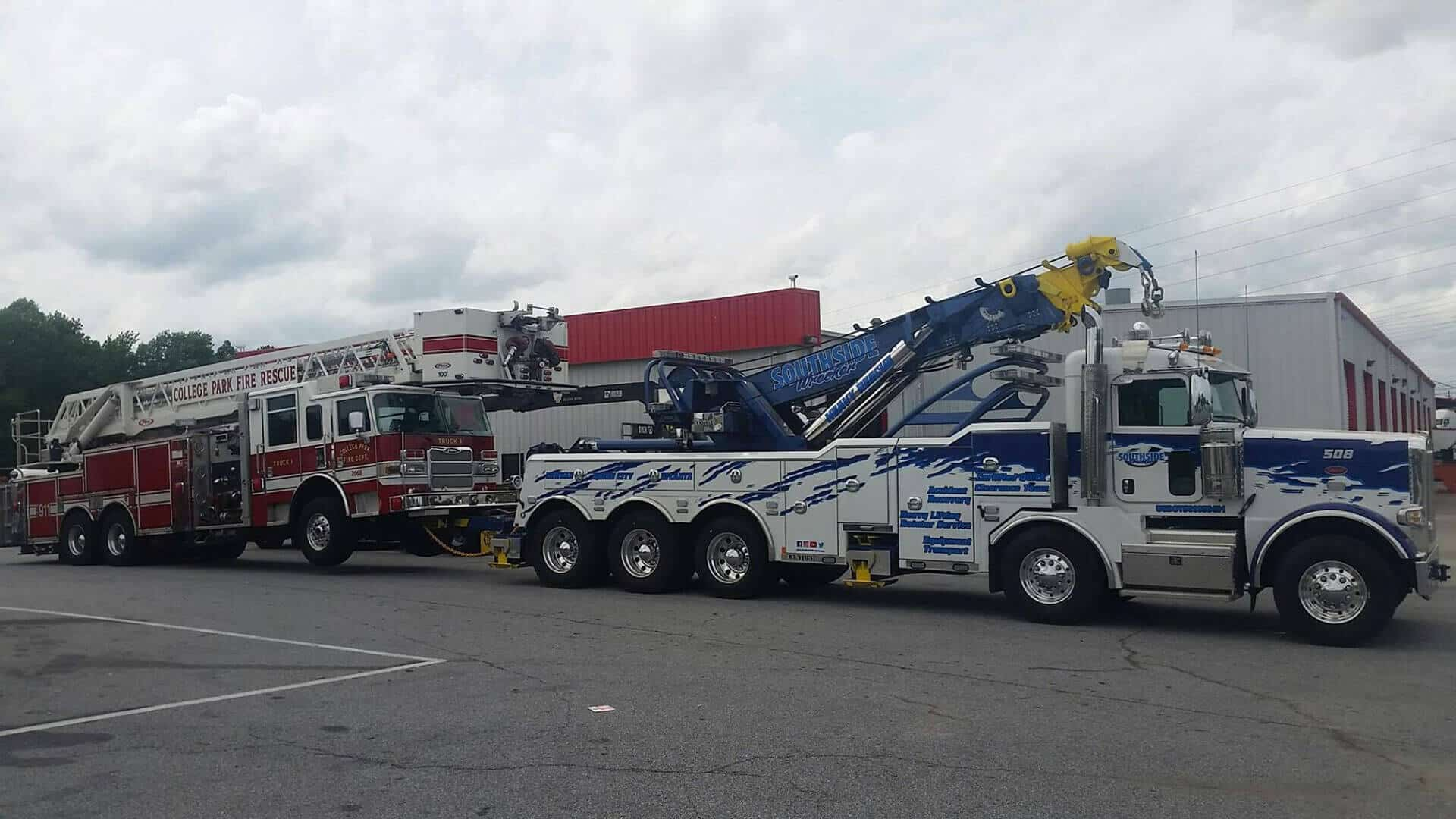 Heavy Duty Towing Newnan GA