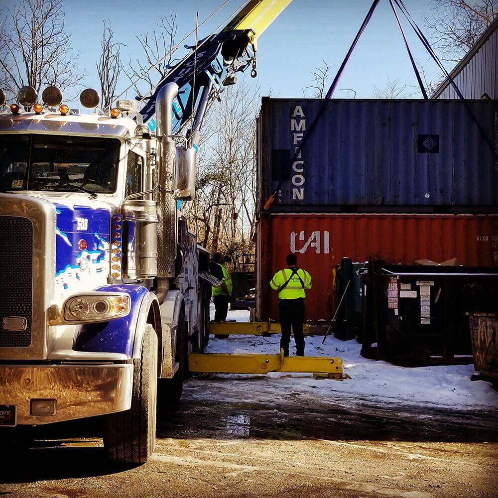 Machinery transport service Atlanta GA