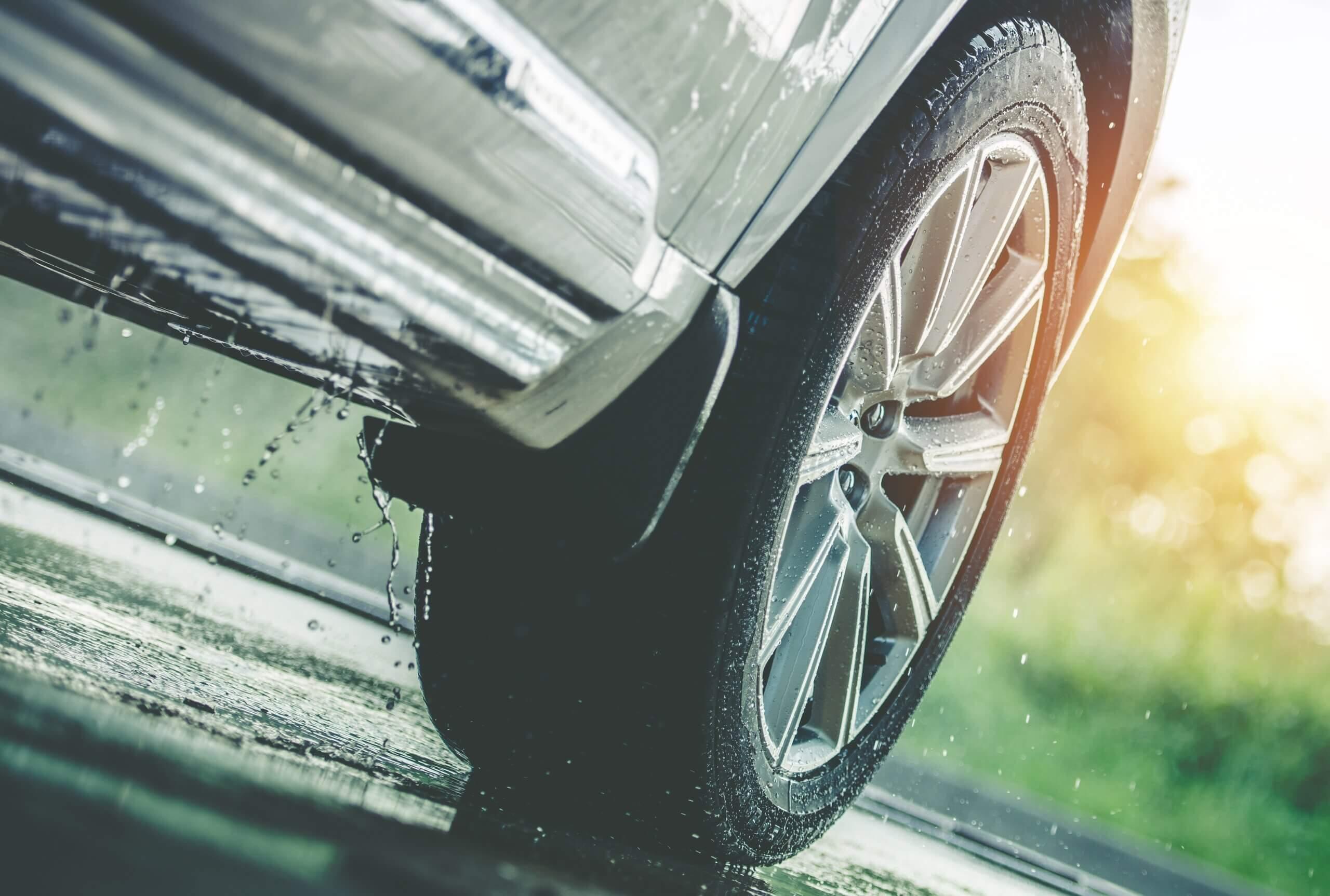 April Showers & Slippery Roads